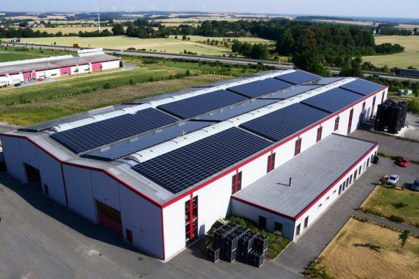 Solceller industri